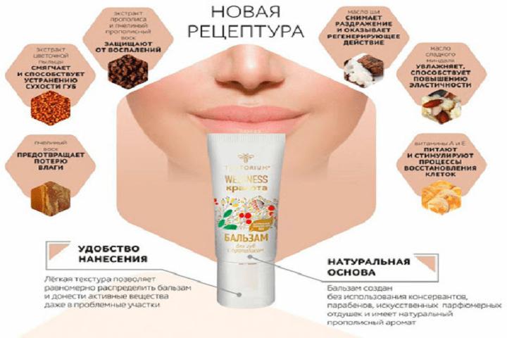 Уход за губами, продуктами пчеловодства